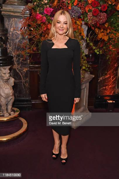 Sarah Hadland attends the 65th Evening Standard Theatre Awards in association with Michael Kors at the London Coliseum on November 24 2019 in London...