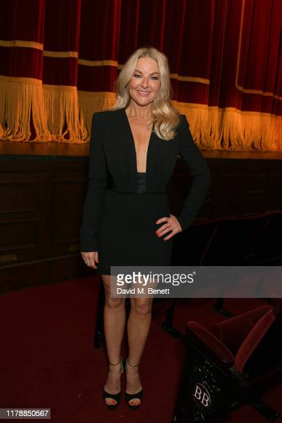 Sarah Hadland attends the press night after party for Noises Off at The Garrick Theatre on October 03 2019 in London England