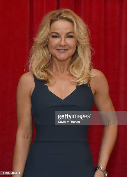 Sarah Hadland attends the World Premiere of Horrible Histories The Movie Rotten Romans at Odeon Luxe Leicester Square on July 6 2019 in London England