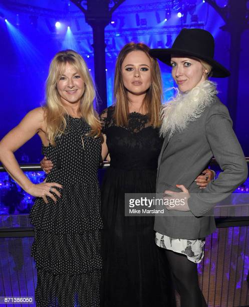 Sarah Hadland, Emily Atack and Jakki Healy attend the SeriousFun London Gala 2017 at The Roundhouse on November 7, 2017 in London, England.