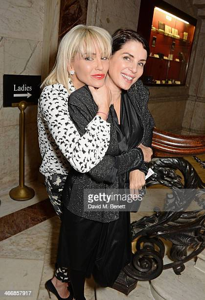 Sarah Harding and Sadie Frost attend the InStyle Best of British Talent party in celebration of BAFTA in association with Lancome and Sky Living at...