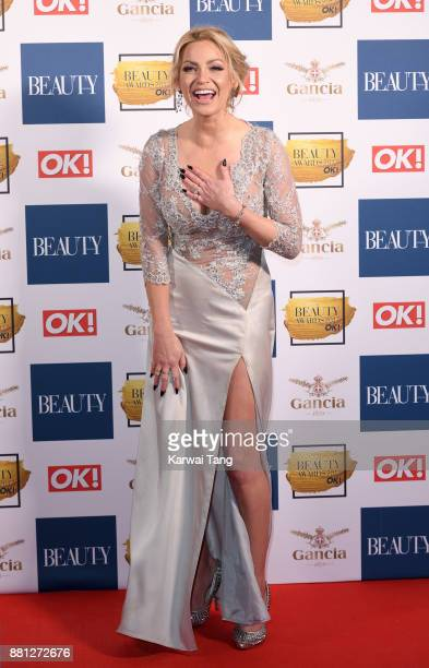 Sarah Harding attends The Beauty Awards at Tower of London on November 28 2017 in London England