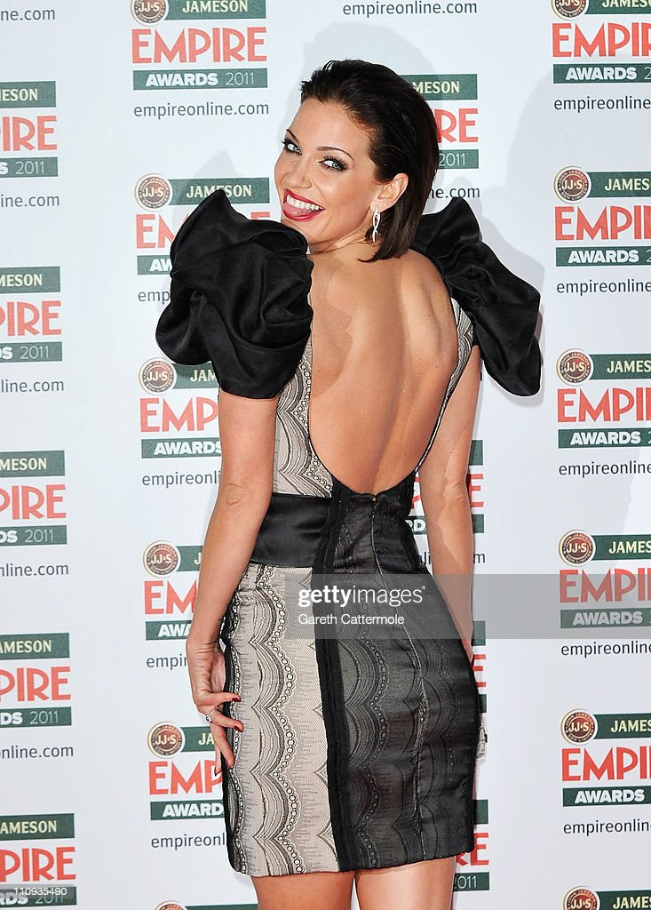 Sarah Harding attends the Jameson Empire Awards at the Grosvenor House Hotel on March 27, 2011 in London, England.