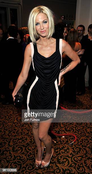 Sarah Harding attends the Jameson Empire Film Awards at The Grosvenor House Hotel on March 28 2010 in London England