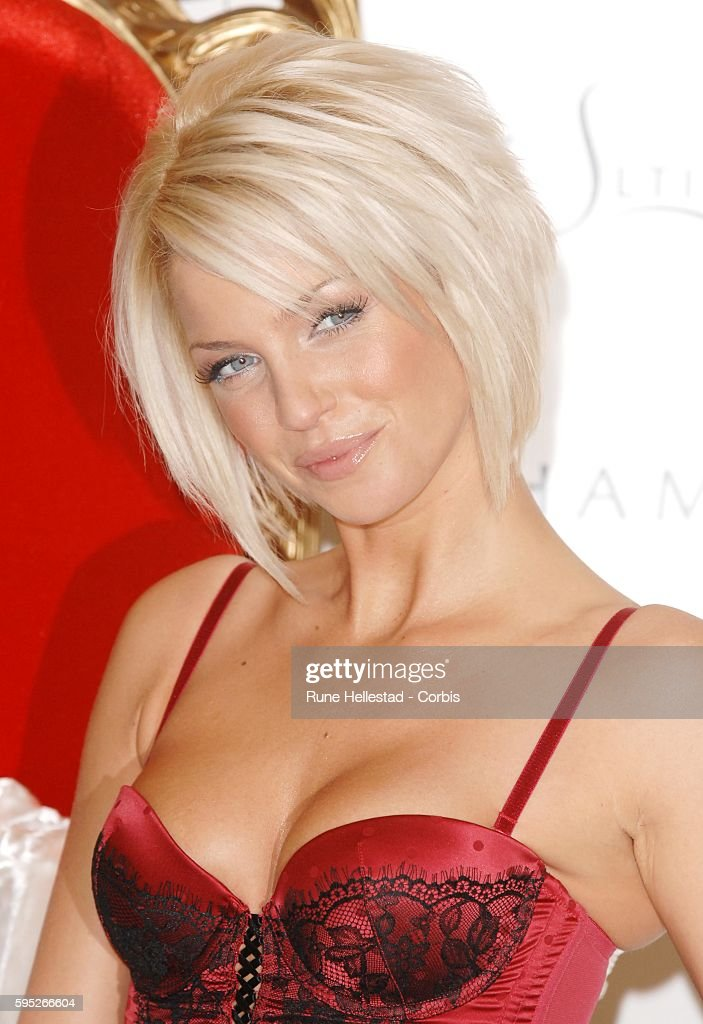 Sarah Harding attends the launch of the new Ultimo underwear range ... 35b4b2d1f