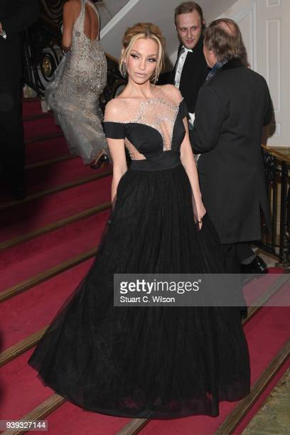 Sarah Harding attends the National Film Awards UK at Porchester Hall on March 28 2018 in London England