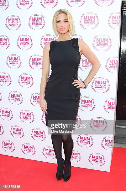 Sarah Harding attends the Tesco Mum of the Year Awards at The Savoy Hotel on March 1 2015 in London England