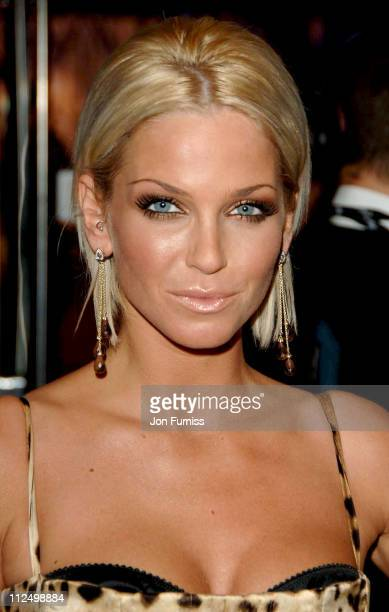 Sarah Harding during 'Casino Royale' World Premiere Inside Arrivals at Odeon Leicester Square in London Great Britain
