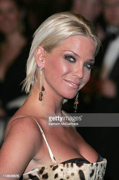 Sarah Harding during 'Casino Royale' World Premiere Outside Arrivals at Odeon Leicester Square in London Great Britain