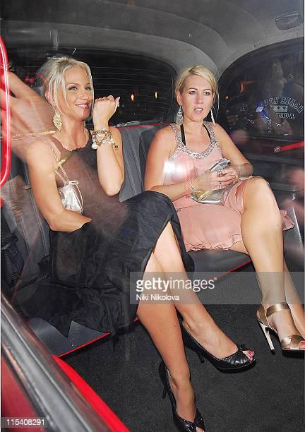 Sarah Harding during Sarah Harding Sighting at Funky Buddha July 18 2006 at Funky Buddha in London Great Britain