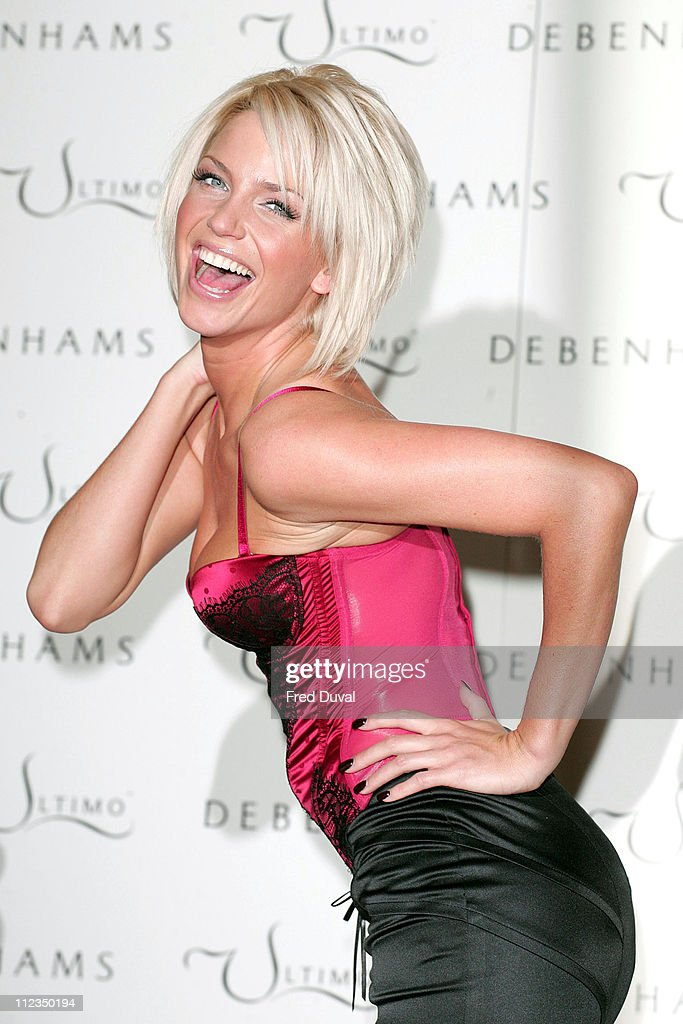 Sarah Harding First Official Appearance as the Face & Body of Ultimo - Photocall