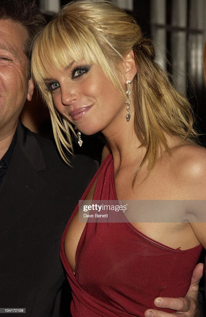 Sarah Harding (girls Aloud), 'Love Actually' Movie Premiere After Party At The In & Out Club, London