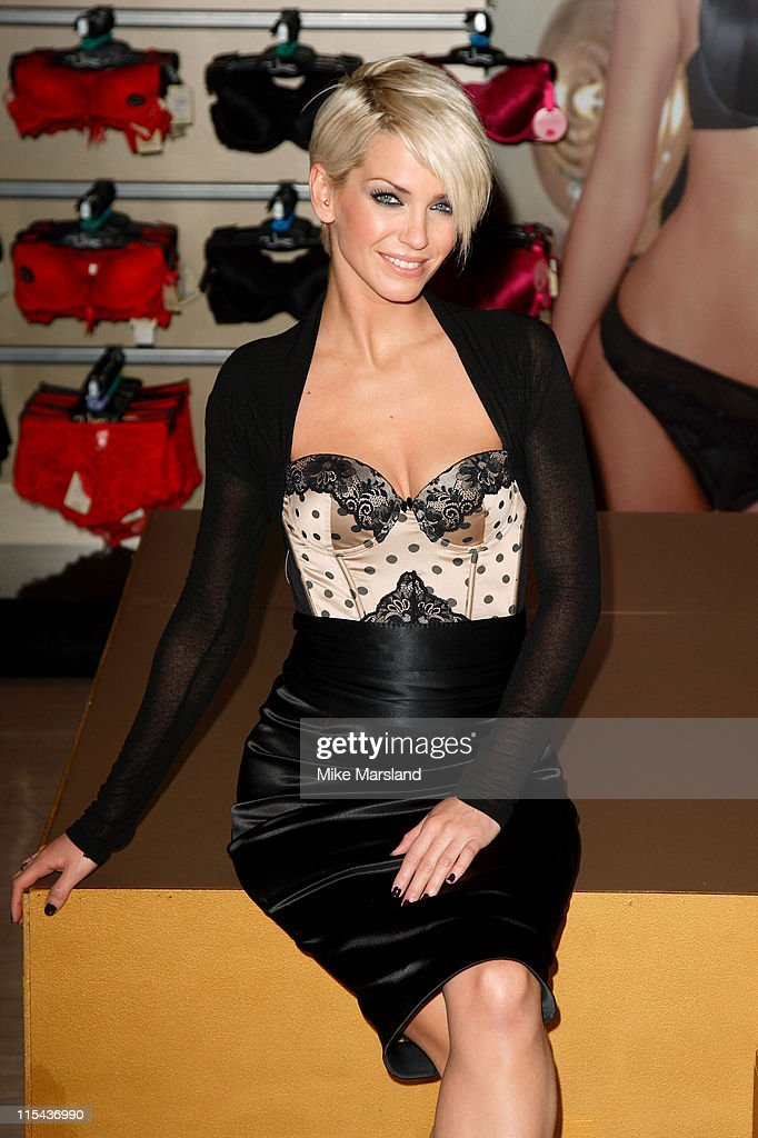 Sarah Harding Launching Ultimo Campaign - Photocall
