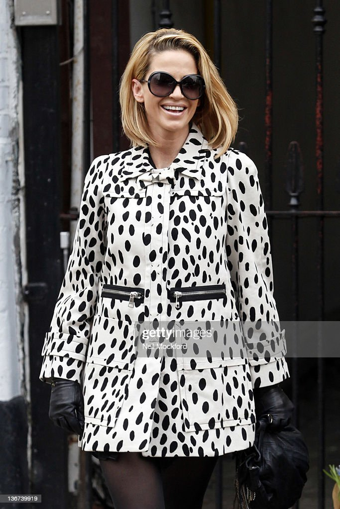 Sarah Harding seen in Primrose Hill on January 11, 2012 in London, England.