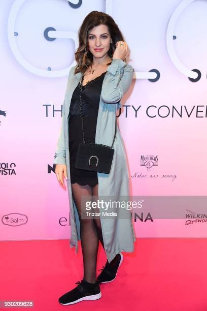 Sarah Harrison during the 'GLOW The Beauty Convention' at Westfalenhalle on March 10 2018 in Dortmund Germany