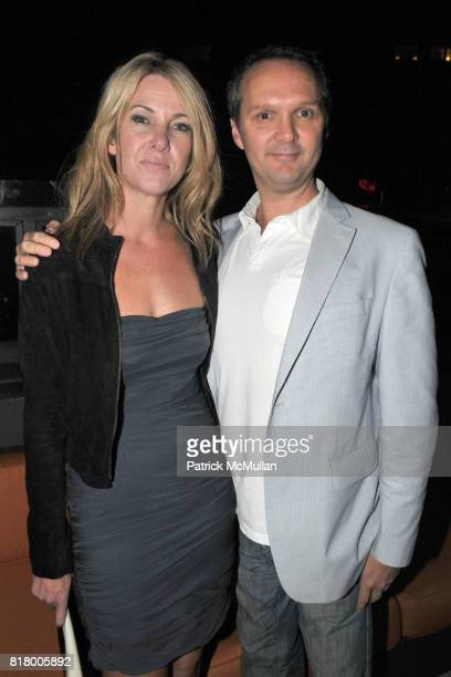 Sarah Hasted and Michael Foley attend After Party for HASTED HUNT KRAEUTLER Artists' Reception with JEFF BARK and EDWARD BURTYNSKY at the Empire...