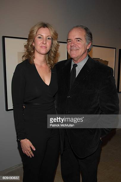 Sarah Hasted and William Hunt attend Private Cocktails and Dinner honoring JeanPaul Goude at Hasted Hunt Gallery NYC on January 10 2007