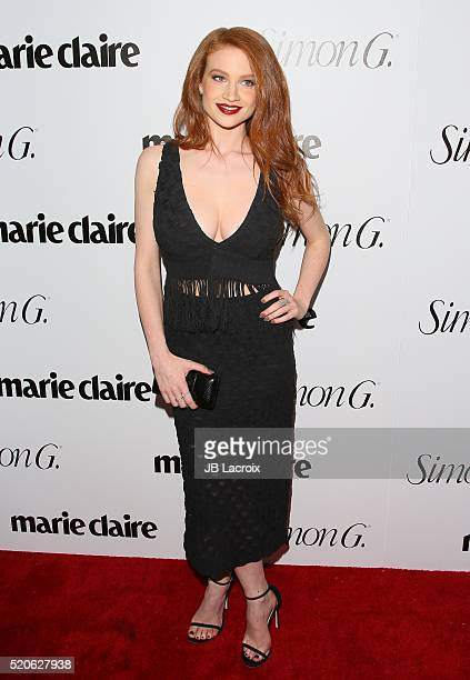 Sarah Hay attends the 'Fresh Faces' party hosted by Marie Claire celebrating the May issue cover stars on April 11 2016 in Los Angeles California