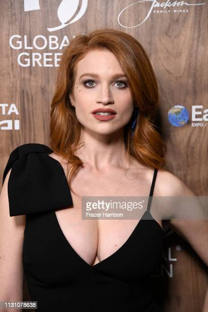 Sarah Hay attends the Global Green 2019 PreOscar Gala at Four Seasons Hotel Los Angeles at Beverly Hills on February 20 2019 in Los Angeles California