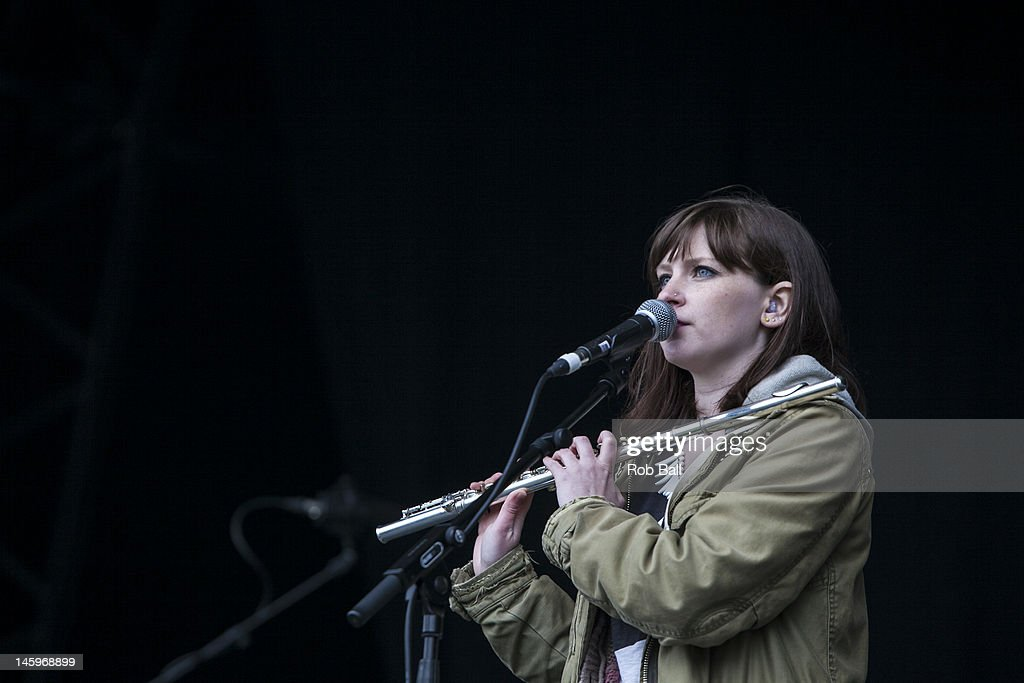 Sarah Hayes Performs With Admiral Fallow At Rockness Festival At News Photo Getty Images
