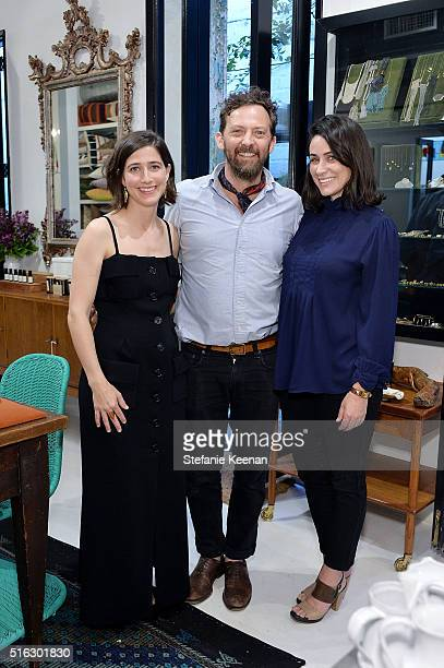Sarah Hendler Todd Nickey and Amy Kehoe attend Sarah Hendler Estate Debuts  At Nickey Kehoe/
