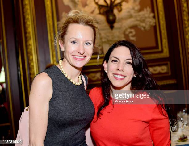 Sarah Higgins and Arielle Lapiano attend Girls Inc Of New York City 2018 Spring Gala at The Metropolitan Club on May 10 2018 in New York City