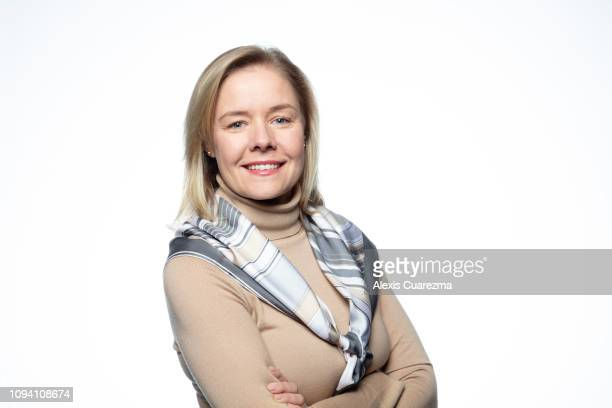 Sarah Hirshland CEO US Olympic Committee poses for a portrait taken on December 13 2018 in Redwood City California