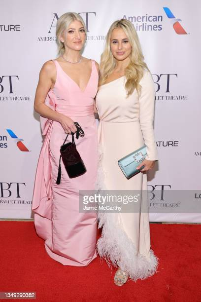 Sarah Hoover and Lili Buffet attend the American Ballet Theatre's Fall Gala at David H. Koch Theater at Lincoln Center on October 26, 2021 in New...