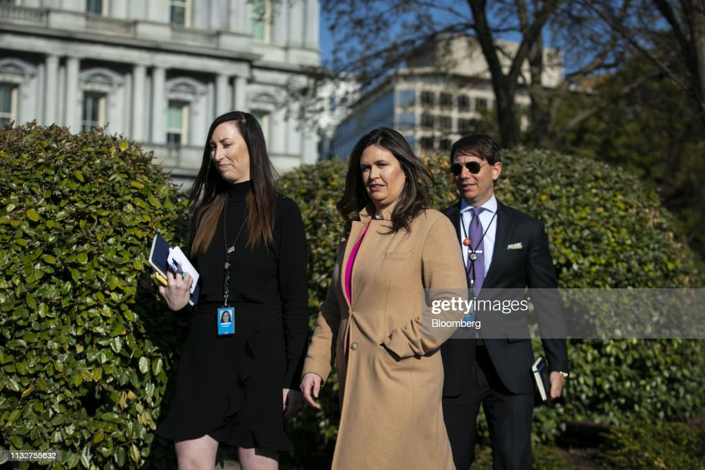DC: White House Press Secretary Sarah Sanders Speaks To Reporters