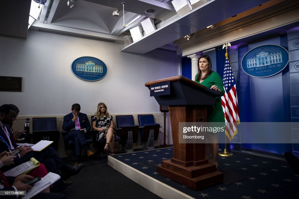 White House Press Secretary Delivers Daily Press Briefing