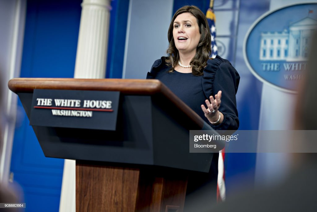 White House Press Briefing With Secretary Sarah Huckabee Sanders