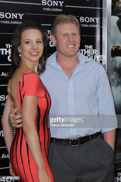 Sarah Hughes and Andrew Giuliani attend COLUMBIA PICTURES Presents the World Premiere of THE OTHER GUYS at Ziegfeld Theatre on August 2 2010 in New...