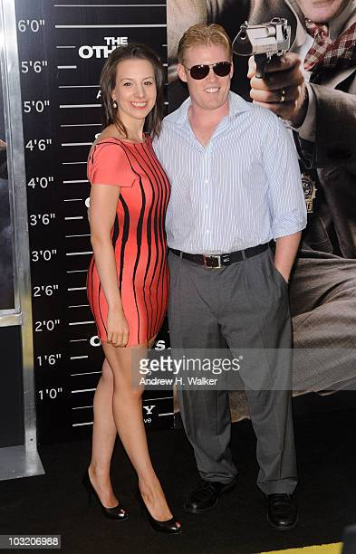 Sarah Hughes and Andrew Giuliani attend the New York premiere of The Other Guys at the Ziegfeld Theatre on August 2 2010 in New York City
