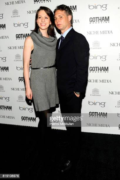 Sarah Hughes and Jason Binn attend ALICIA KEYS Hosts GOTHAM MAGAZINES Annual Gala Presented by BING at Capitale on March 15 2010 in New York City