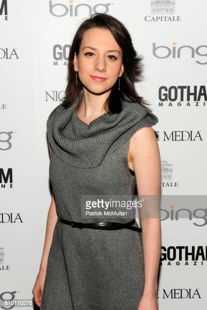 Sarah Hughes attends ALICIA KEYS Hosts GOTHAM MAGAZINES Annual Gala Presented by BING at Capitale on March 15 2010 in New York City