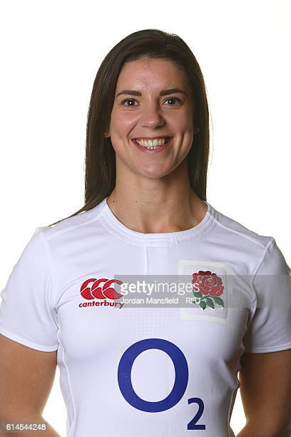 Sarah Hunter of England poses for a portrait on October 2 2016 in Farnham England