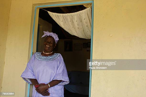 Sarah Hussein Obama the grandmother of US Presidential candidate Barak Obama awaits the results of Super Tuesday's primary at her home on February 5...