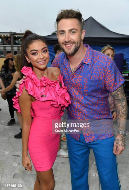 Sarah Hyland and Jordan McGraw attend FOX's Teen Choice Awards 2019 on August 11, 2019 in Hermosa Beach, California.