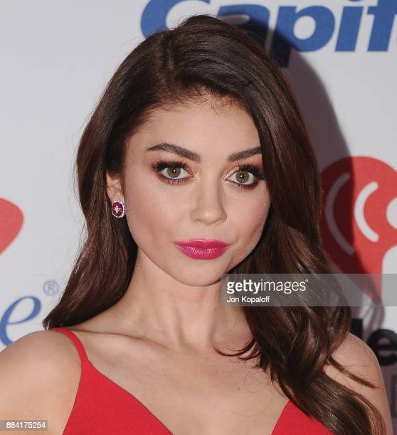 Sarah Hyland attends 1027 KIIS FM's Jingle Ball 2017 at The Forum on December 1 2017 in Inglewood California