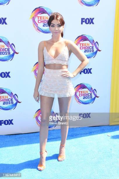 Sarah Hyland attends FOX's Teen Choice Awards 2019 on August 11 2019 in Hermosa Beach California