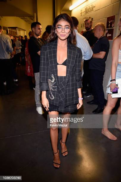 Sarah Hyland attends the 2018 iHeartRadio Music Festival at TMobile Arena on September 22 2018 in Las Vegas Nevada