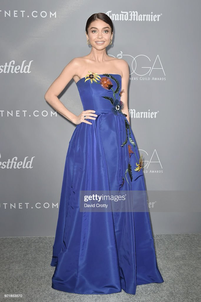 Sarah Hyland attends the 20th CDGA (Costume Designers Guild Awards) - Arrivals on February 20, 2018 in Beverly Hills, California.