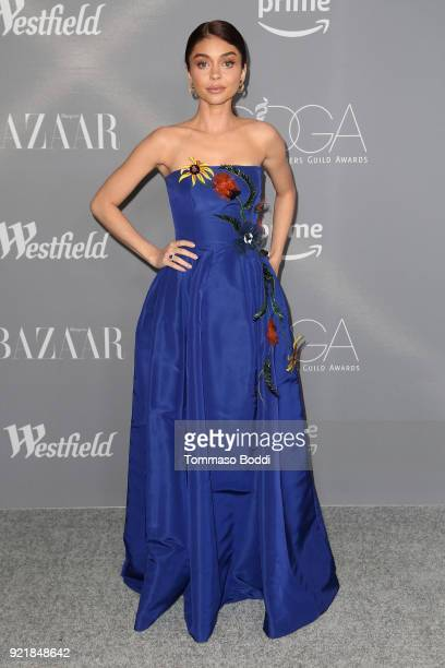 Sarah Hyland attends the 20th CDGA on February 20 2018 in Beverly Hills California