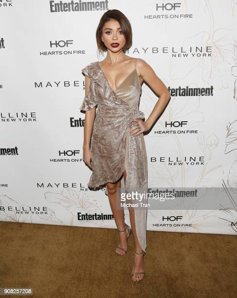 Sarah Hyland attends the Entertainment Weekly hosts celebration honoring nominees for The Screen Actors Guild Awards held on January 20 2018 in Los...