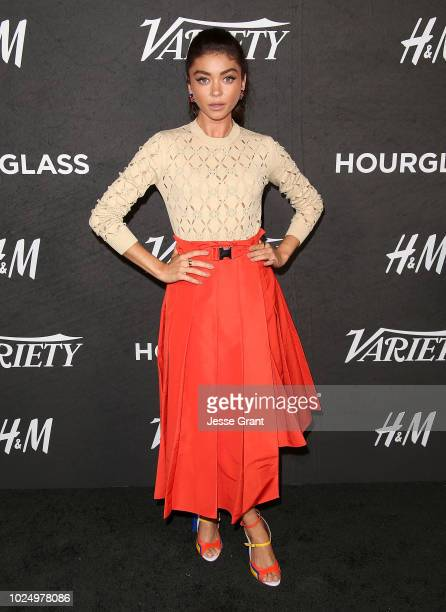 Sarah Hyland attends Variety's Power of Young Hollywood event at the Sunset Tower Hotel on August 28 2018 in West Hollywood California