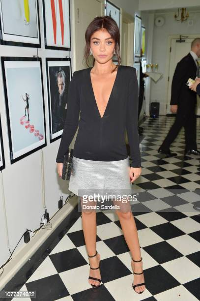 Sarah Hyland attends W Magazine Celebrates Its 'Best Performances' Portfolio and the Golden Globes with Audi and Giorgio Armani Beauty at Chateau...