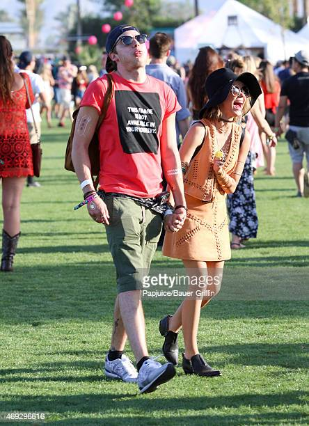 Sarah Hyland is seen at Coachella Valley Music and Arts Festival at The Empire Polo Club on April 10 2015 in Indio California
