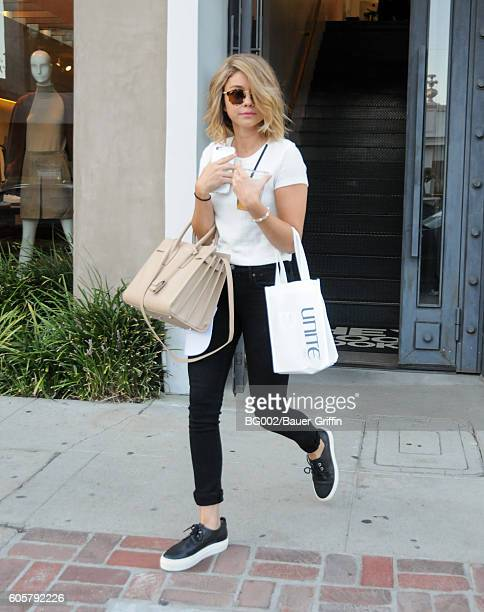 Sarah Hyland is seen on September 14 2016 in Los Angeles California