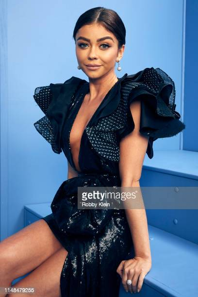 Sarah Hyland poses for a portrait during the 2019 CMT Music Awards at Bridgestone Arena on June 5 2019 in Nashville Tennessee