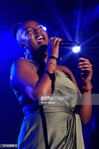 Sarah Ikumu performs onstage during Apollo in the Hamptons 2018 Hosted by Ronald O Perelman at The Creeks on August 11 2018 in East Hampton New York